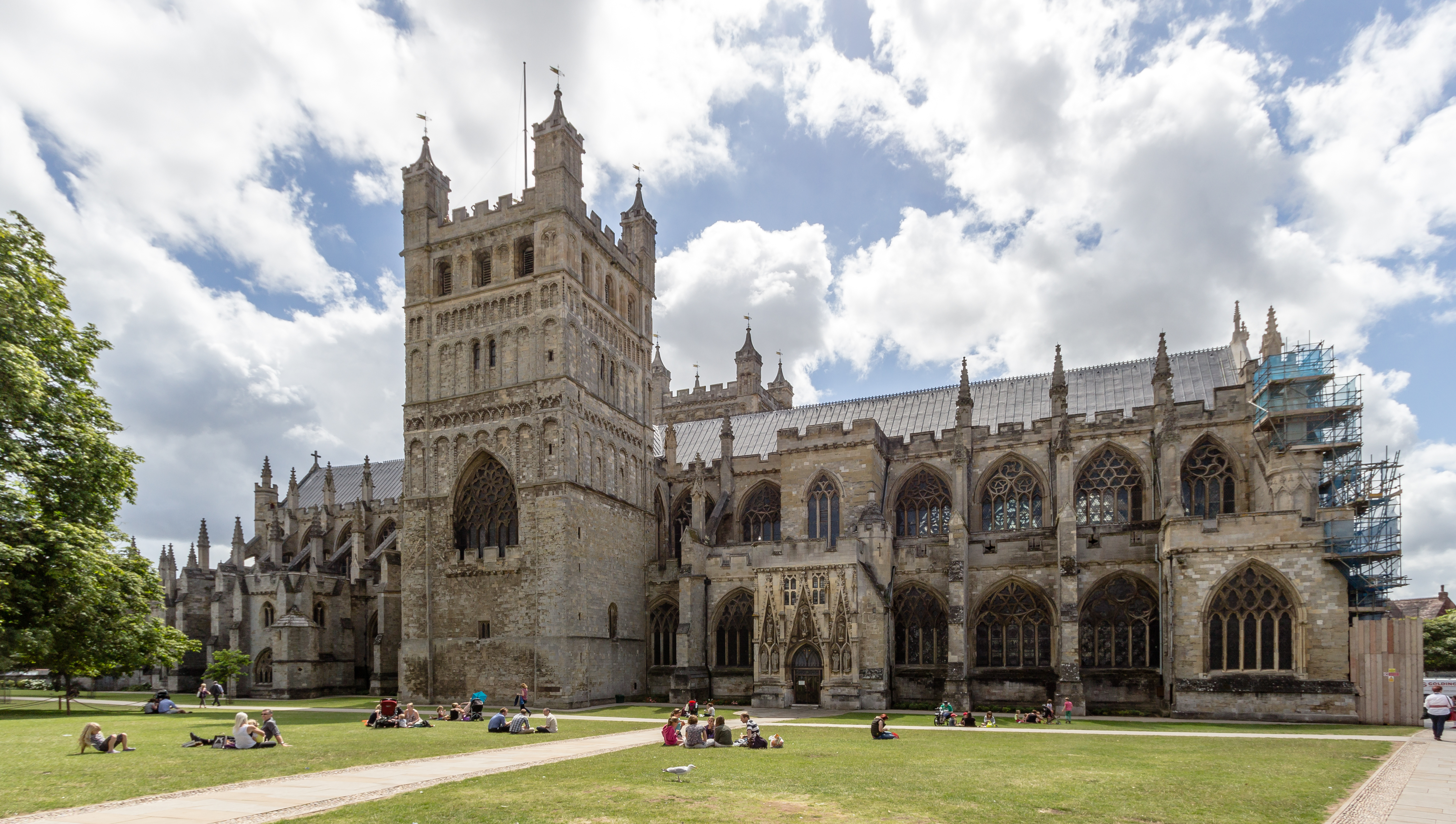 Exeter Cathedral near Offices at No.1